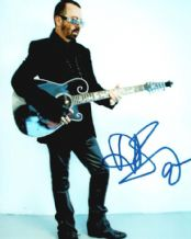 David Stewart Autograph Signed Photo - Eurythmics